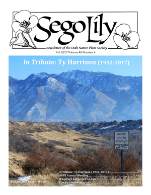 Sego Lily 2017 Fall Issue