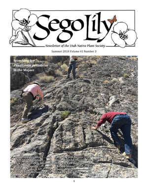 Sego Lily 2018 Spring Issue