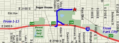 Sugarhouse map