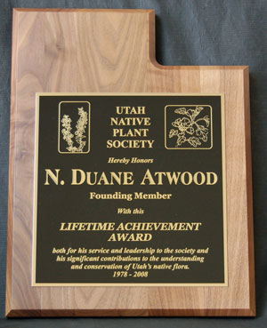 Atwood plaque, picture by Tony Frates