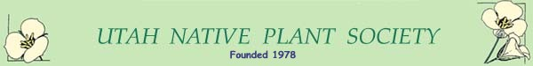 Utah Native Plant Society logo